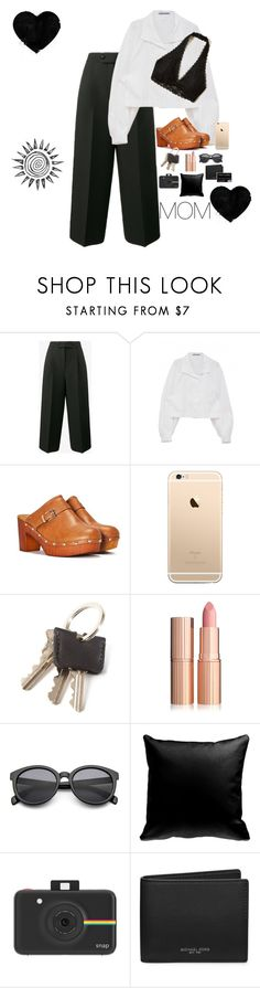 """Happy birthday mom! Love you so much!❤️check the D!:)"" by elliejee ❤ liked on Polyvore featuring Valentino, Nasty Gal, Hollister Co., Polaroid and Michael Kors"