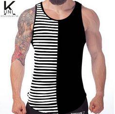Gym Clothing Mens Tank Top Stringer Fashion 2016 Cotton Slim Fit Men Tank Tops Bodybuilding Undershirt Gym Fitness Singlet F1043