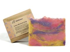 Lotus Blossom Soap Handmade Soap Vegan Soap by SimpleHomeAccents