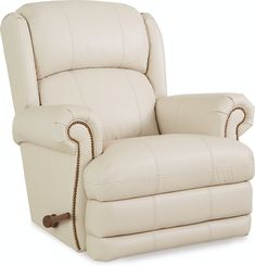 La-Z-Boy Living Room Wall Recliner With Brass Nail Head Trim 016768 | Hickory Furniture Mart |