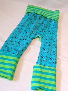 Blue Monster Monkey Bumz Size 1  - 1-3 years ~ Ready to Ship