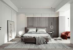 Bedroom Closet Design, Modern Bedroom Design, Home Bedroom, Bedroom Decor, Interior Design Gallery, Modern Interior Design, Interior Architecture, Apartment Interior, Apartment Design