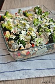 Simply Food: Zapiekanka makaronowa z kurczakiem, brokułami i szpinakiem Simply Recipes, Potato Salad, Food To Make, Cabbage, Salads, Healthy Recipes, Homemade, Vegetables, Cooking