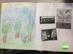 grade 2 all year interactive notebook to show learning. technology integration