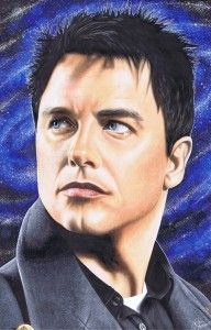 Barrowman Harkness by Jennifer Mercer, colored with Copic Markers