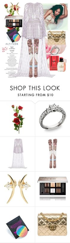 """""""Altitude"""" by raincheck ❤ liked on Polyvore featuring LUISA BECCARIA, Tom Ford, Wasson Fine, Givenchy, Devinah Cosmetics, Chanel and Yves Saint Laurent"""