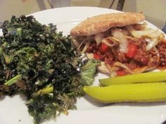 Adventures in Cooking - Journal - Chipotle Sloppy Joes with Kale Chips