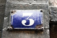 Fine art photography, architecture photo, typography art, number three, rustic decor, architectural detail, wall hangings 5x7 (13x18). $18.00, via Etsy.