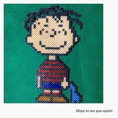 Linus - Peanuts perler beads by achiya928