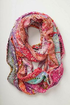 Very beautiful colorful scarf