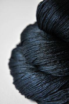 A dark storm is coming  Silk Lace Yarn by DyeForYarn on Etsy, €27.00