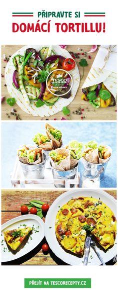 Připravte si domácí tortillu snadno a rychle!