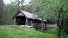 Will Henry Stevens Covered Bridge in Highlands, NC (Bagley Bridge of War...