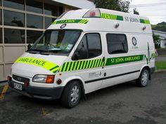 Emergency Vehicles, Ford Transit, Ambulance, Recreational Vehicles, New Zealand, Saints, Fire, Australia, Vintage