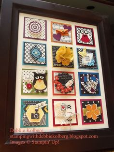 Squares Swap Collage Sampler want to do this for Michael and Mason and for my dad and brother...the possibilities are endless....I love it!
