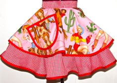 Exclusively from the seamstresses at Cupcake Provocateur, comes this super cute Emily Ellyn signature apron only available here.  Each apron is made to order by one seamstress and given a healthy portion of home-made attention - just for you!