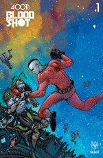 4001 AD: Bloodshot #1 cover by Ryan Lee