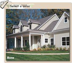 Popular+vinyl+siding+color+combinations | Crane Siding, Maintenance Free,