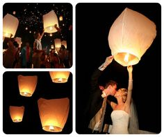 Wedding Sky Lanterns - BUY HERE!