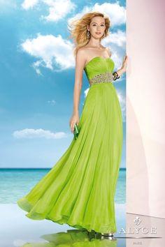 a957da236e ALYCE Paris green prom dress style  35590 Prom Dresses Uk