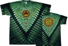 Grateful Dead T-shirt Celtic Knot Green Tie Dye Tee Shirt - Grateful Dead T-shirts Tie Dye Shirts, Band Shirts, Tee Shirts, Tees, Woodstock, Grateful Dead Shirts, Green Tie, Tour T Shirts, Tie Knots