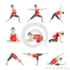 Set of 9 Yoga poses for Pregnant women. - Schwanger - Set of 9 Yoga poses for Pregnant women. Pregnancy Yoga Poses, Pregnancy Timeline, Pregnancy Videos, Pregnancy Workout, Pregnancy Photos, Pregnancy Facts, Funny Pregnancy, Pregnancy Journal, Childbirth Education