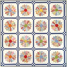Miss Muffet's Tuffet   Dresdens and 9 patch Dresden Plate Patterns, Quilt Patterns, Antique Quilts, Vintage Quilts, Dresden Plate Quilts, Quilt Border, Scrappy Quilts, Quilting Designs, Quilting Ideas