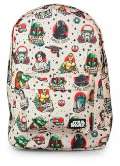 Star Wars backpack <3 Dopest backpack ever!!! I want meow!