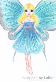 Butterfly Fairy Illustration Kids, Butterfly Fairy, Models, Doll Clothes Patterns, Creative Studio, Barbie Doll, Designs To Draw, Painting Inspiration, Kids Girls