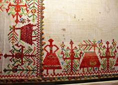 Folk Embroidery, Benaki Museum, Athens, Greece