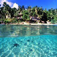 Mala Island Resort Beach View #tonga