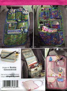 60 De descuento nuevo auto organizadores patrón 2916 por Demi, $6.00