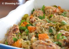 Chicken, Leek and Butternut Squash Bake  #Chicken #Leeks #Butternutsquash #lowfat #healthyeating