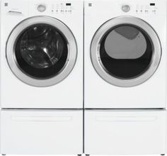 Kenmore®/MD 4.5 cu. Ft. King Size Capacity Front Load Washer & 7.0 cu. Ft. King Size Capacity Electric Dryer - White - Sears | Sears Canada Electric Dryer, Canada Shopping, Front Load Washer, Aging In Place, Online Furniture, King Size, Washing Machine, Mattress, Home Appliances