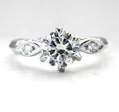 Art Nouveau Engagement Rings 48