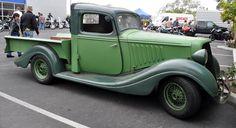 Just a car guy : wow, a 34 Husdon Terraplane garage made truck ...
