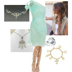 Image result for daughter of poseidon outfit