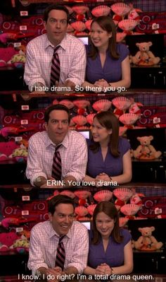Andy's a drama queen.