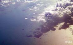 La foto del día: La nube y su sombra