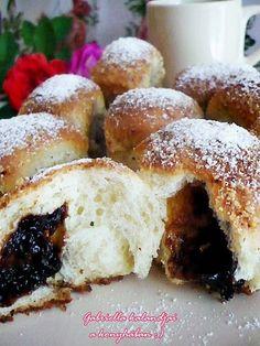 Gabriella kalandjai a konyhában :): Fenséges bukta gömbök - házi szilvalekvárral, dará...