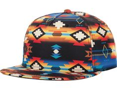 Neff x Mac Miller Machahat Tribal Print Snapback Hat, $25.95 - Christmas Gift Ideas for Boyfriend - Seventeen