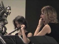 Noh- music for two piccolo  flutes and toys-live concert 2011-Buenos Aires
