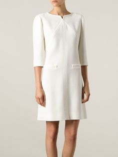 Courrèges Shift Dress - Francis Ferent - Farfetch.com