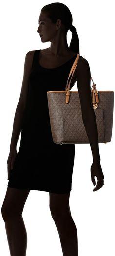 2f941bf81e60 Michael Kors Mk Original Lady Women Leather Handbag Shoulder Bag Purse  Fashion $152.79