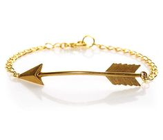 Arrow Bracelet from Uncovet - IN love. So pretty, and a shoutout to my Pi Phi girls <3