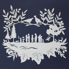 Family Paper Cutting with Jenny Lee Fowler : : Taproot Gathering