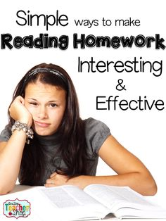Read about how I made my nightly reading homework more interesting, while still being highly effective in covering the Common Core!