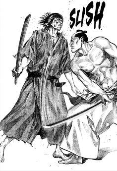 Vagabond Musashi vs Yoshioka by Takehiko Inoue