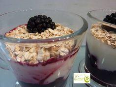 Los Postres de Elena: Tarrinas de yogur con moras, arándanos y jengibre. http://www.lospostresdeelena.com/2017/05/tarrinas-de-yogur-con-moras-arandanos-y.html #Cocina #Gastronomia #Recetas #Tenerife #Canarias #España #Vegetariana #Vegana #Vegetarian #Vegan