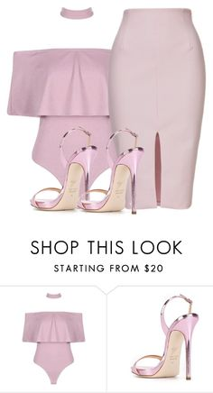 """""""PINK SERIES II"""" by samstyles001 on Polyvore featuring Giuseppe Zanotti"""